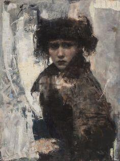 "Ron Hicks, ""Break Of Day"" oil on linen. National Art, New York Art, Medium Art, Figure Painting, American Artists, Figurative Art, Dark Art, Illustration Art, Illustrations"