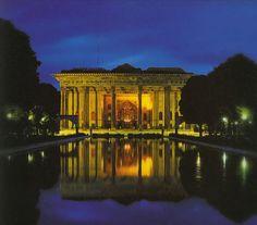 Chehel Sotoun pavilion in Isfahan, Chehel Sotoun pavilion in Isfahan, courtesy Wikipedia.