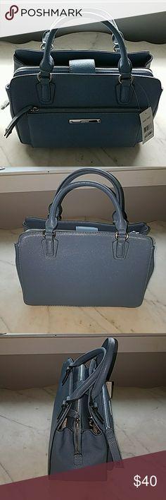 NWT Blue Nine West Bag NWT Light Blue Nine West Bag with Shoulder Strap Nine West Bags