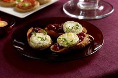 A simple Cranberry and goat's cheese bruschettas recipe for you to cook a great meal for family or friends. Buy the ingredients for our Cranberry and goat's cheese bruschettas recipe from Tesco today.