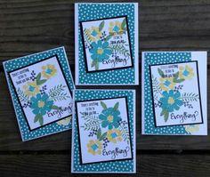 Using May '15 Birthday Bundle kit with April '16 free stamp set