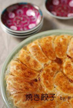 ☆ juicy baked dumplings made Sweets Recipes, Fish Recipes, Mexican Food Recipes, Cooking Recipes, Japanese Dishes, Japanese Food, Japanese Recipes, Bbq Meat, Japan