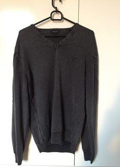 Kup mój przedmiot na #vintedpl http://www.vinted.pl/odziez-meska/swetry-w-serek/12564652-sweter-szary-gant