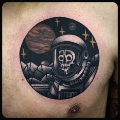 #space #astronaut #tattoo #tattoos Done at @sbldnttt