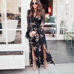 With the arrival of the party season, women are always finding out strategies to restock their wardrobes so they can … Ankle Boots Dress, Booties Outfit, Dress And Heels, Ankle Booties, Boho Outfits, Dress Outfits, Casual Outfits, Fashion Outfits, Dresses With Boots Fall