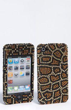 Tasha 'Crystal Leopard' iPhone 4 & 4S Case