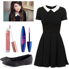 """Zoella Inspired Outfit"" by saladtopping on Polyvore"