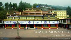 Rumtek monastery in #Sikkim, #India houses some of the rarest #Buddhist religious art objects, including the priceless Black Hat (VajraMukut) studded with rubies, diamonds, gold and other precious stone, etc. Read More.