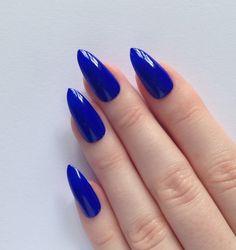 stiletto nails blue - Google Search