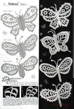 irish crochet flowers A collection of crochet patterns. Filet Crochet, Art Au Crochet, Beau Crochet, Russian Crochet, Freeform Crochet, Crochet Diagram, Thread Crochet, Crochet Motif, Crochet Crafts