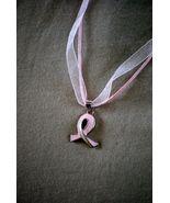 Bonanza.com   Breast Cancer Necklace  **Love it **