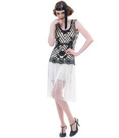 1920s black beaded dress - Google Search