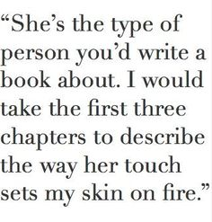 It would take more then 3 chapters to describe how I feel about this! <3