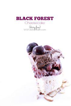 Black Forest Cheesecake - This recipe is #vegan #raw #glutenfree #dairyfree & made with #allnatural whole ingredients #HealthyRebel Style. #DAMYHealth #21DayVegan