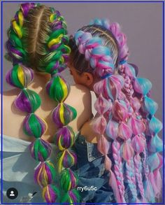 Braided Hairstyles, Cool Hairstyles, Rave Hair, Wacky Hair, Crazy Hair Days, Natural Hair Styles, Long Hair Styles, Festival Hair, Aesthetic Hair
