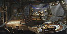 View topic - Ideas for Steampunk Airship