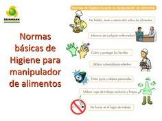 Normas  básicas de  Higiene para  manipulador  de alimentos