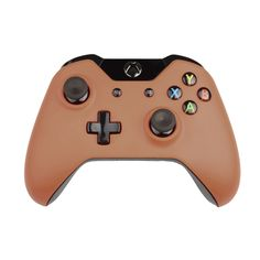 Custom Xbox One Controller Wireless Glossy Signal Brown