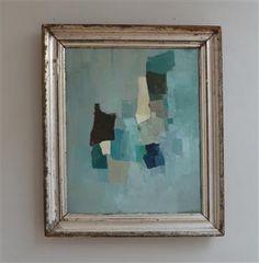 Deborah Tarr - 'Azure'  Abstract art