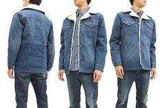 Wrangler Sherpa Lined Denim Jacket WM1770 Men's Ranch Coat