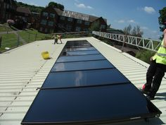 Solar thermal used to make zero carbon cement.