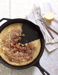 German Apple Pancakes & Caveman Feast, Paleo #glutenfree #paleo