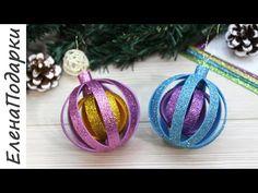 Christmas Toys, Christmas Decorations, Christmas Ornaments, Holiday Decor, Diy Toys, Bottle Crafts, Crochet Earrings, Glitter, Celebration