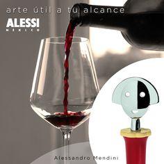 """""""Anna Stop 2"""" Tapón para botella de vino inspirado en Anna G, diseñado por Alessandro Mendini"""