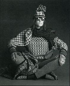 European knitting fashion, 80s (a favourite repin of VIP Fashion Australia…