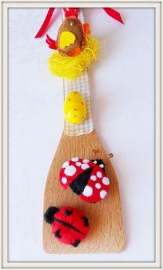 """ασυνARTητο: Ιδέες για πασχαλινή διακόσμηση: """"Πασχαλινές"""" κουτάλες"""