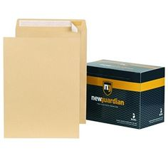 New Guardian Peel And Seal Heavyweight Pocket Envelopes - Non-Standard Envelopes Pocket Envelopes, Seal, Office Supplies, Harbor Seal
