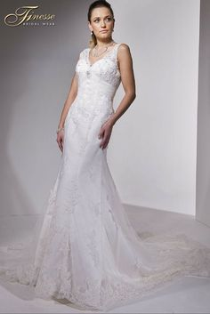 Fit and Flare Wedding Gown Finesse Bridal Wear in Listowel, Co Kerry #FitandFlare #WeddingDress