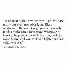 Beau Taplin | On Grief