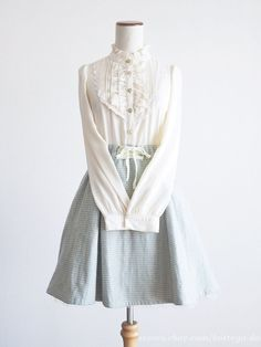 axes femme Victorian style Ribbon OP Dress Lace Classic lolita Kawaii Japan #axesfemme #Peplum #Victorianlolita