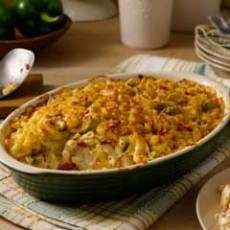 Chicken Macaroni Casserole...this is said to be one of Dale Earnhardt Jr's favorite recipes.