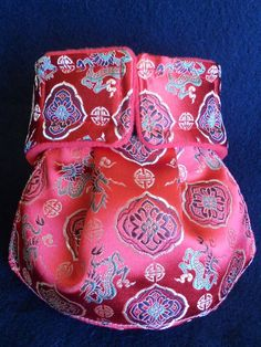 Kimono Dog Diaper Luxury Satin Brocadesmall ready to by hatz4brats, $28.00
