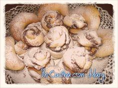 rose di pasta briosce con nutella