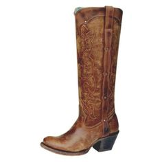 Corral Retro Natural Westport Cowgirl Boots - Cowgirl Boots - Womens - Footwear | D Farm and Ranch