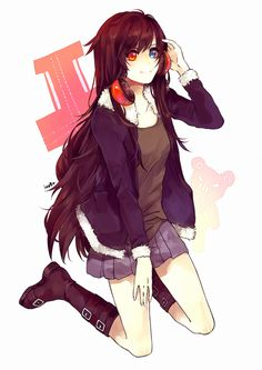 anime girls with oversized sweaters - Google Search