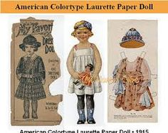 Bilderesultat for mcloughlin paper dolls