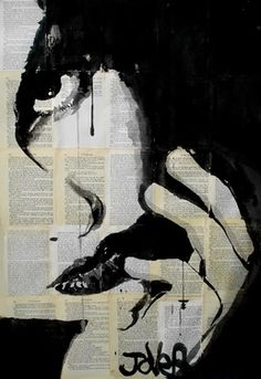 "Saatchi Online Artist Loui Jover; Drawing, ""sometimes"" #art"