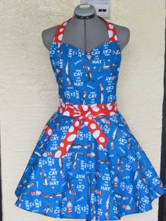 Plus Size  Sweetheart Hostess Apron The by AquamarCouture on Etsy, $43.95