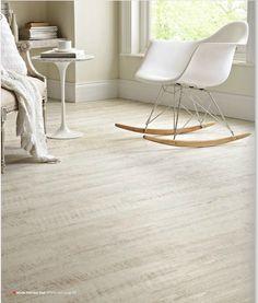 kardean white oak Living Room Renovation, Modern Sofa, Karndean Flooring, Home Office Desks, Kitchen Flooring, White Oak, New Homes, Kardean Flooring, White Oak Floors