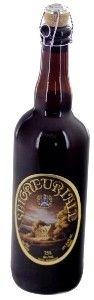 Cerveja Unibroue Seigneuriale, estilo Belgian Golden Strong Ale, produzida por Unibroue, Canadá. 7.5% ABV de álcool.