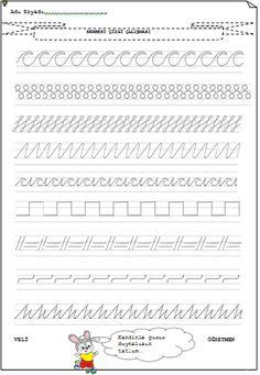 Sınıf Düzenli Çizgi Çalışma Örnekleri