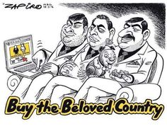 As South Africa gets used to a post-Zuma era, ZAPIRO takes a look back at some of his best work spanning the Zuma years. News South Africa, Jacob Zuma, C 18, Lap Dogs, Political Satire, Sign Quotes, Funny Pictures, Funny Pics, History