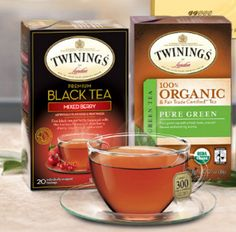 Free Twinings of London Tea Samples