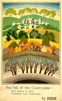 London General poster,Ernest Michael Dinkel, 1931