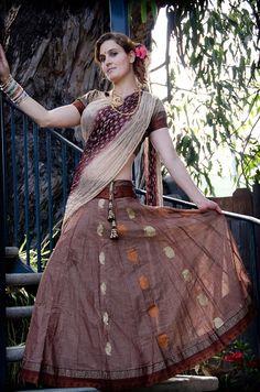 Gopi Skirt in copper