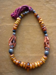 ,beautiful necklace Layered Jewelry, Trendy Jewelry, Tribal Jewelry, Beaded Jewelry, Jewelry Necklaces, Fashion Jewelry, Beaded Bracelets, Amber Beads, Amber Jewelry